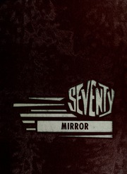 1970 Edition, Shields Junior High School - Mirror Yearbook (Seymour, IN)