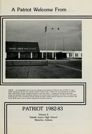 Page 5, 1983 Edition, DeKalb Middle School - Patriot Yearbook (Waterloo, IN) online yearbook collection