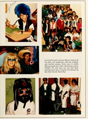 Page 13, 1986 Edition, Mercer Middle School - Raider Yearbook (Garden City, GA) online yearbook collection