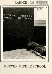 Page 5, 1986 Edition, Mercer Middle School - Raider Yearbook (Garden City, GA) online yearbook collection