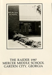 Page 5, 1987 Edition, Mercer Middle School - Raider Yearbook (Garden City, GA) online yearbook collection