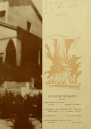 Page 6, 1933 Edition, Whittier Union High School - Cardinal Yearbook (Whittier, CA) online yearbook collection