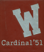 Whittier Union High School - Cardinal Yearbook (Whittier, CA) online yearbook collection, 1951 Edition, Page 1