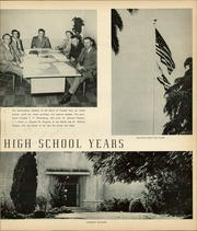 Page 13, 1952 Edition, Whittier Union High School - Cardinal Yearbook (Whittier, CA) online yearbook collection