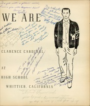 Page 7, 1952 Edition, Whittier Union High School - Cardinal Yearbook (Whittier, CA) online yearbook collection