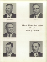 Page 15, 1959 Edition, Whittier Union High School - Cardinal Yearbook (Whittier, CA) online yearbook collection