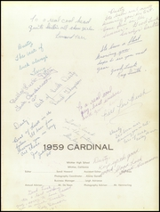 Page 5, 1959 Edition, Whittier Union High School - Cardinal Yearbook (Whittier, CA) online yearbook collection