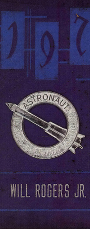 1971 Edition, Will Rogers Junior High School - Astronaut Yearbook (Miami, OK)