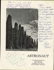 Page 5, 1974 Edition, Will Rogers Junior High School - Astronaut Yearbook (Miami, OK) online yearbook collection