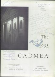 Page 5, 1955 Edition, Tennessee High School - Cadmea Yearbook (Bristol, TN) online yearbook collection