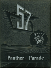 1957 Edition, Bartlett High School - Panther Parade Yearbook (Bartlett, TN)