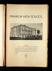 Page 5, 1934 Edition, Franklin High School - Cornerstone Yearbook (Franklin, TN) online yearbook collection