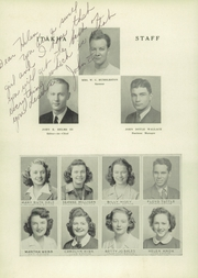 Page 10, 1944 Edition, Morristown Hamblen East High School - Itakha Yearbook (Morristown, TN) online yearbook collection