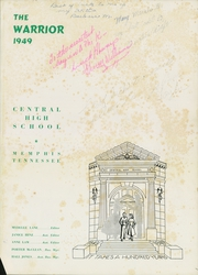 Page 5, 1949 Edition, Central High School - Warrior Yearbook (Memphis, TN) online yearbook collection
