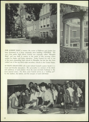 Page 14, 1960 Edition, Central High School - Warrior Yearbook (Memphis, TN) online yearbook collection