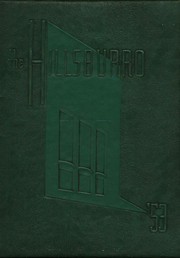 1953 Edition, Hillsboro High School - Hillsburro Yearbook (Nashville, TN)