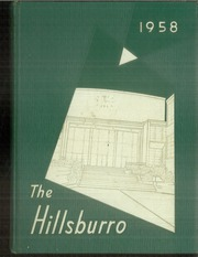 1958 Edition, Hillsboro High School - Hillsburro Yearbook (Nashville, TN)