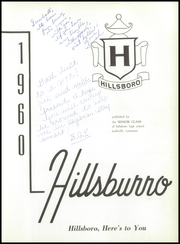 Page 5, 1960 Edition, Hillsboro High School - Hillsburro Yearbook (Nashville, TN) online yearbook collection