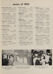 Page 17, 1952 Edition, Red Bank High School - Roar Yearbook (Chattanooga, TN) online yearbook collection
