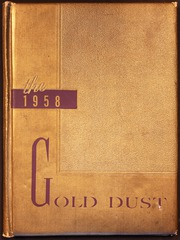 1958 Edition, Smyrna High School - Gold Dust Yearbook (Smyrna, TN)