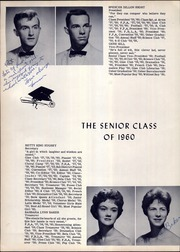 Page 14, 1960 Edition, Smyrna High School - Gold Dust Yearbook (Smyrna, TN) online yearbook collection