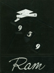 Page 1, 1959 Edition, Madison High School - Ram Yearbook (Madison, TN) online yearbook collection