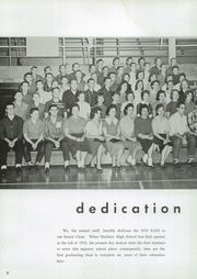 Page 10, 1959 Edition, Madison High School - Ram Yearbook (Madison, TN) online yearbook collection