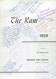Page 5, 1959 Edition, Madison High School - Ram Yearbook (Madison, TN) online yearbook collection