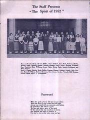 Page 6, 1952 Edition, Kirkman Vocational School - Spirit Yearbook (Chattanooga, TN) online yearbook collection