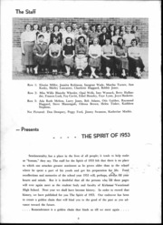 Page 5, 1953 Edition, Kirkman Vocational School - Spirit Yearbook (Chattanooga, TN) online yearbook collection