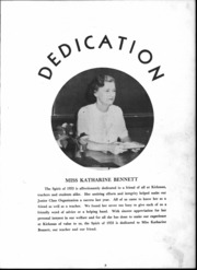 Page 6, 1953 Edition, Kirkman Vocational School - Spirit Yearbook (Chattanooga, TN) online yearbook collection