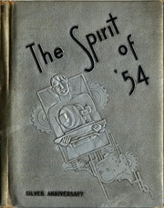 Page 1, 1954 Edition, Kirkman Vocational School - Spirit Yearbook (Chattanooga, TN) online yearbook collection
