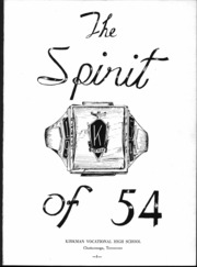 Page 5, 1954 Edition, Kirkman Vocational School - Spirit Yearbook (Chattanooga, TN) online yearbook collection