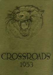 Page 1, 1953 Edition, Whitehaven High School - Crossroads Yearbook (Memphis, TN) online yearbook collection