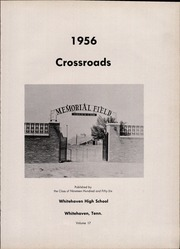 Page 5, 1956 Edition, Whitehaven High School - Crossroads Yearbook (Memphis, TN) online yearbook collection