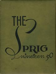1950 Edition, Springville High School - Panther Yearbook (Springville, TN)