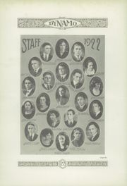 Page 10, 1922 Edition, Chattanooga High School - Dynamo Yearbook (Chattanooga, TN) online yearbook collection