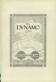Page 5, 1922 Edition, Chattanooga High School - Dynamo Yearbook (Chattanooga, TN) online yearbook collection