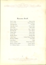 Page 17, 1928 Edition, Chattanooga High School - Dynamo Yearbook (Chattanooga, TN) online yearbook collection