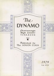 Page 9, 1929 Edition, Chattanooga High School - Dynamo Yearbook (Chattanooga, TN) online yearbook collection
