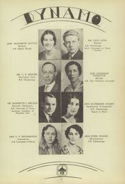 Page 15, 1934 Edition, Chattanooga High School - Dynamo Yearbook (Chattanooga, TN) online yearbook collection