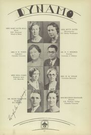 Page 17, 1934 Edition, Chattanooga High School - Dynamo Yearbook (Chattanooga, TN) online yearbook collection
