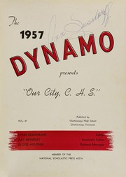 Page 5, 1957 Edition, Chattanooga High School - Dynamo Yearbook (Chattanooga, TN) online yearbook collection