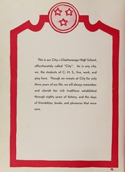 Page 8, 1957 Edition, Chattanooga High School - Dynamo Yearbook (Chattanooga, TN) online yearbook collection