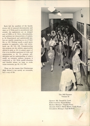 Page 7, 1962 Edition, Chattanooga High School - Dynamo Yearbook (Chattanooga, TN) online yearbook collection