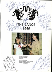 Page 5, 1969 Edition, Sheffield High School - Lance Yearbook (Memphis, TN) online yearbook collection
