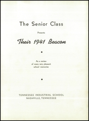 Page 7, 1941 Edition, Tennessee Preparatory School - Beacon Yearbook (Nashville, TN) online yearbook collection