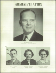 Page 12, 1951 Edition, East High School - Mustang Yearbook (Memphis, TN) online yearbook collection