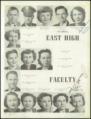 Page 13, 1951 Edition, East High School - Mustang Yearbook (Memphis, TN) online yearbook collection
