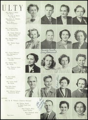 Page 11, 1952 Edition, East High School - Mustang Yearbook (Memphis, TN) online yearbook collection